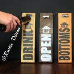 Beer Sign Bottle Opener